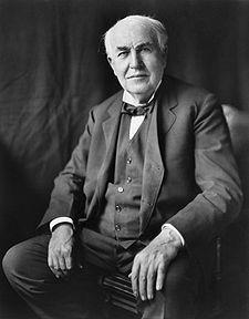 Thomas Edison ( http://en.wikipedia.org/wiki/Thomas_Edison)