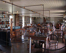 His Menlo Park laboratory (http://en.wikipedia.org/wiki/Thomas_Edison)