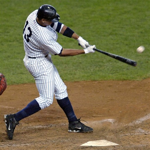 Alex Rodriguez hitting another homerun (The Sports Reporter NY's Blog)