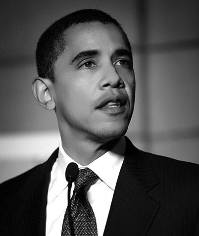 Obama in a picture (http://www.portlandart.net/archives/barack-obama-bw.png)