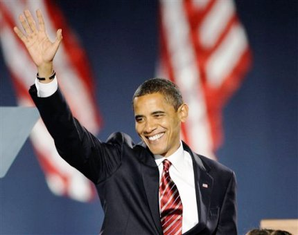 Obama wins election (Picture by Jay Keller)