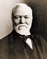 Andrew Carnegie in his later years (http://www.awardannals.com/)