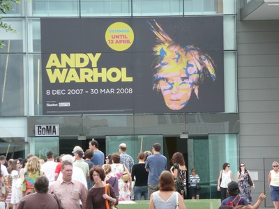 Convention for Warhol's followers