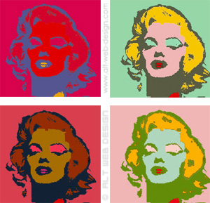 One of Warhol's Famous Works