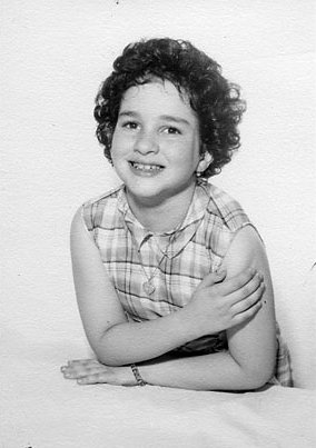 Sonia Sotomayor at age 8