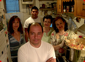 Muñoz and his family (CNN Heroes)