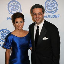 Eva Longoria and MALDEF President Thomas Saenz (hispanicallyspeakingnews.com)