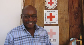 Dr. Ernest Athumani, the local Health Coordinator (massivegood.com)