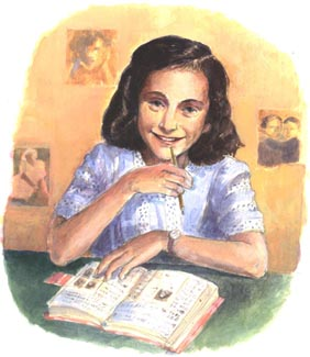 Anne Frank (http://www.juneallan.co.uk/anne_frank_large.jpg)