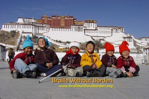Braille Without Borders in Tibet