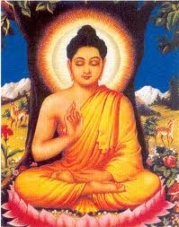 Buddha at his enlightenment