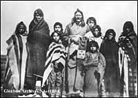 Chief Crowfoot and his family<br> (https://www.abheritage.ca/alberta/<br>images/fn/crowfoot_family.jpg)