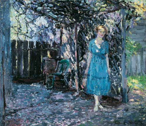 By the Arbor (http://www.themorris.org/ourcollection/wiley-arbor.html)