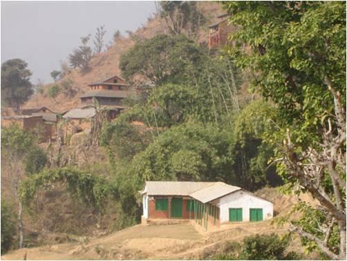 Mijar Village School (taken by me during visit to Mijar Village)