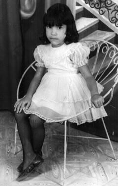 Luz Maria Rodriguez-Fernandez, age 4