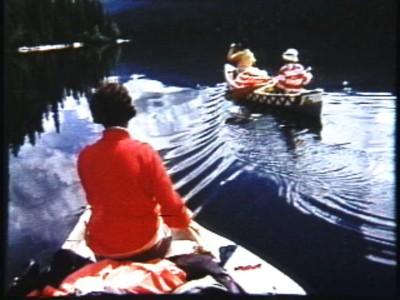 Canoe trip in Canada