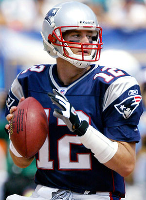 Tom Brady quarter back for the New England Patrio (www.google.com)