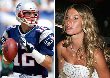 Tom Brady and his wife gisele bundchen (www.google.com)