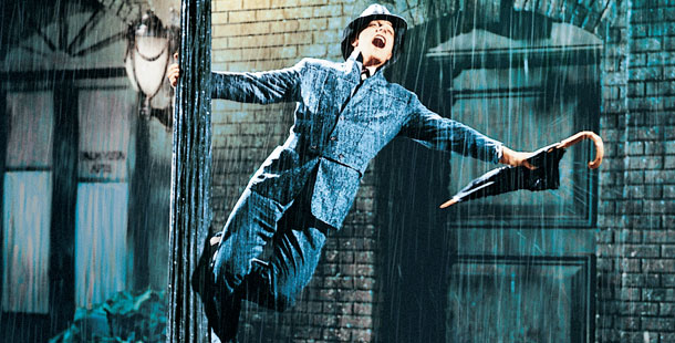 The famous dance number from Singin' In the Rain  (http://www.pbs.org/wnet/americanmasters/episodes/gene-kelly/anatomy-of-a-dancer/516/ =)