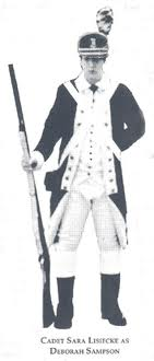 Deborah Sampson, of the Fourth Regiment, Massachu (http://www.revolutionarywararchives.org/womansoldier.html)