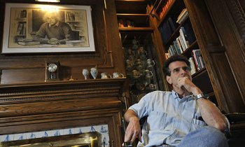 Caption: Dean Kamen at his home in North Dumpling (Ap Photo/ Jessica Hill)