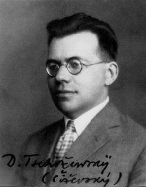 Dmytro Chyzhevsky (http://uk.wikipedia.org/wiki/%D0%A4%D0%B0%D0%B9%D0%BB:Chizhevskiy_ID.jpg)