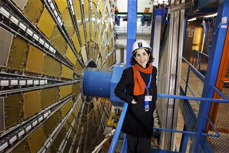 Fabiola Gianotti (CERN)
