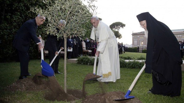 Vatican Garden Prayer ceremony (Getty Images ())