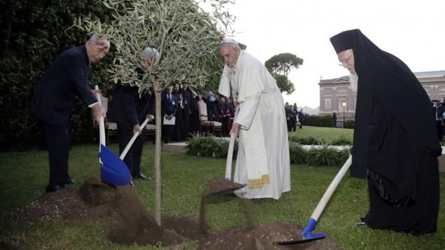 Ceremonia de Oración en el Jardín del Vaticano (Getty Images)