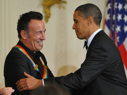 Bruce Springsteen & President Obama Kennedy Center (newyork.cbslocal.com ())