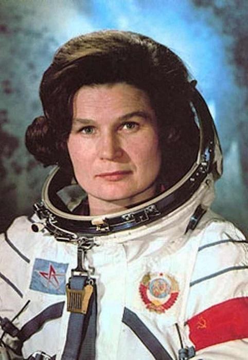 Valentina Tereshkova (http://www.britannica.com/biography/Valentina-Tere (Britnnica))