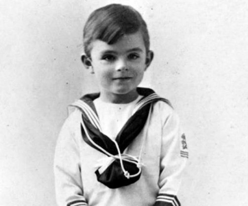 Turing as a young child... (ComputerworldUK (unknown photographer))