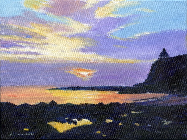 <b>Fisherman's Cove, Laguna Beach (Art by Doug Miller)</b>