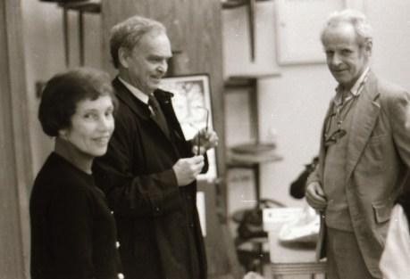 <b>Barbara, Jim Dilley and Barbara's brother Walker Stuart 1977 (Photo by Doug Miller)</b>