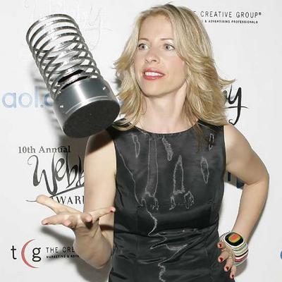 Tiffany Shlain at the 10th Annual Webby Awards (The Arty Semite blog)