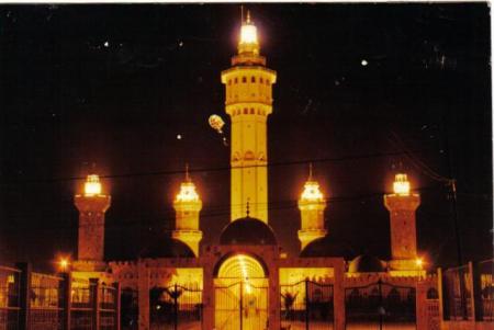 The Mosque of Touba (Courtesy wikipedia)