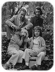 Ogden with his wife and children (doollee.com)