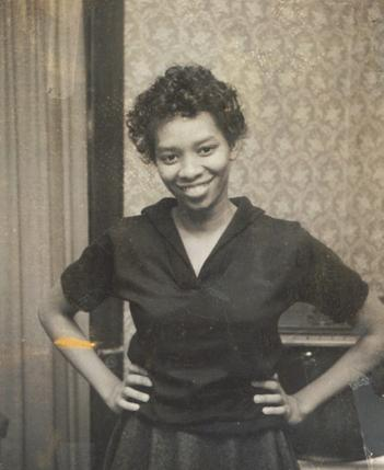 My grandma at age 23