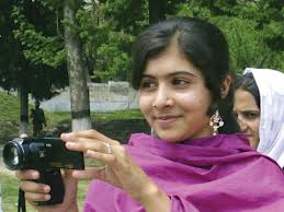 Malala working with the BBC (http://www.bbc.co.uk/news/magazine-19899540)