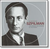 The cover of one of Wladyslaw Spzilman's albums. (This is the actual retail cover from one of his music albums.)