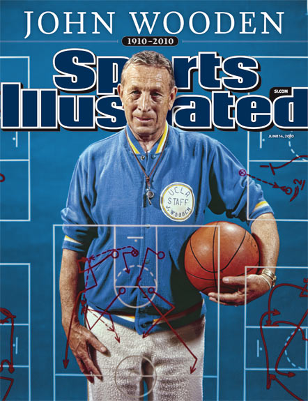 Sports Illustrated Cover of John Wooden
