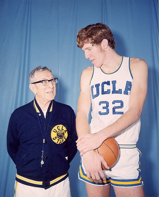 John Wooden and Bill Walton