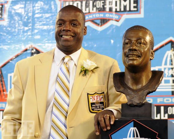 Darrell Green at the NFL Hall of Fame. (life.com)