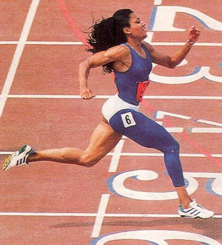 Florence Griffith-Joyner in the Summer Olympics 1