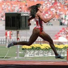 Florence Joyner at the 1988 Summer Olympics