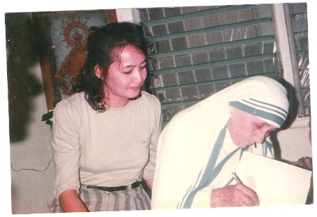 My Grandmother with Mother Teresa