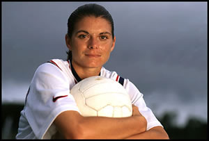 mia has inspired many young and talented ladies to go for their dream and work as hard as they can to achieve it mia hamm is a team player and helps her