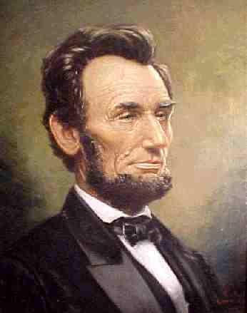 Abraham Lincoln as President  of the United State (http://www.harriscountygop.com/eblast/images/AbeLincoln.jpg)