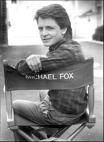Michael J Fox as a young new Hollywood actor (http://www.fanpop.com/spots/michael-j-fox/images/8370250/title/michael-j-fox-photo)