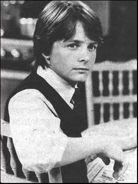 Michael J Fox as his best known role Alex P Keato (http://www.fanpop.com/spots/michael-j-fox/images/8370250/title/michael-j-fox-photo)